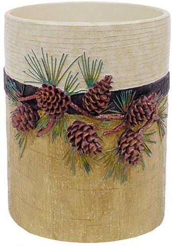 Lodge Bathroom Pine Cones And Lodge Decor On Pinterest