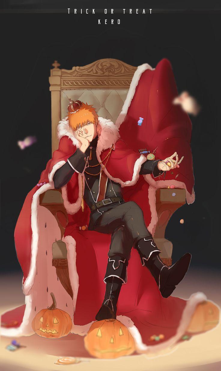 Ichigo                                  Happy Halloween