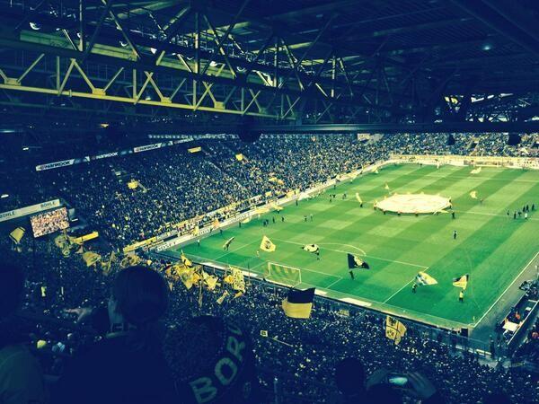 """Westfalenstadion, Dortmund - """"Borussia Dortmund"""" (BVB)"""