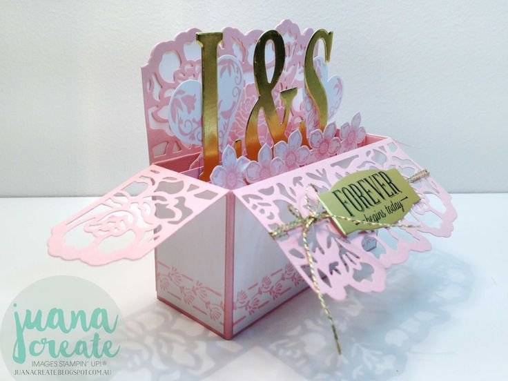 Juan Ambida Independent Stampin UpR Demonstrator Australia Floral Phrases Wedding Card In A Box