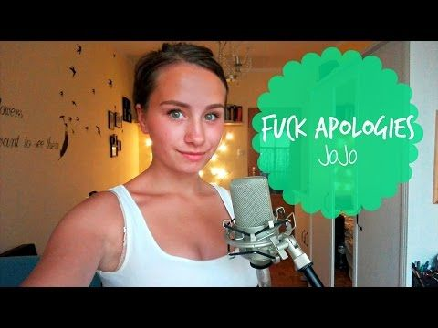 Fuck Apologies Jojo Wiz Khalifa Live acoustic cover NEW JOJO SONG