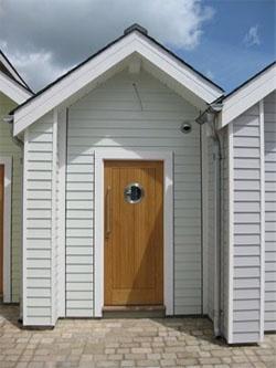 Beach hut accommodation, Devon, uk