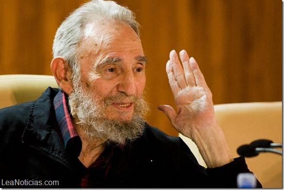 Fidel Castro conversó por teléfono con universitarios que recorren la isla - http://www.leanoticias.com/2015/04/17/fidel-castro-converso-por-telefono-con-universitarios-que-recorren-la-isla/