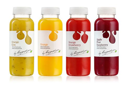 Hoogesteger juices #packaging #design