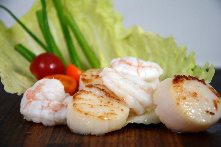 Shrimp & Sea Scallops