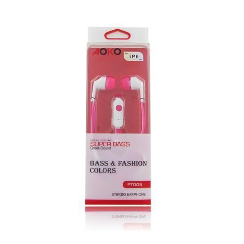 3.5 mm In Ear Hands-free Headset Headphone with Remote Mic & Bass #UnbrandedGeneric