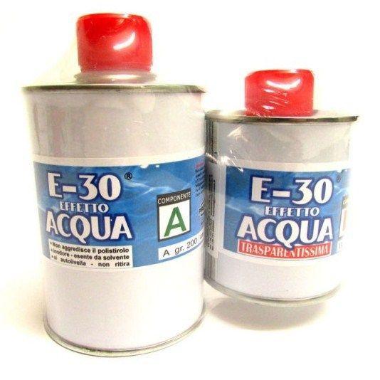 resine per acqua presepi