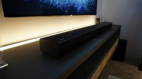 Hands-on review: CES 2016: Samsung HW-K950 Soundbar with Dolby Atmos
