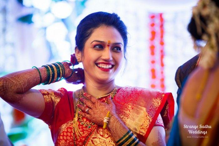 Shivani Kulkarni & Trivikram Pimple by Strange Sadhu Weddings. www.StrangeSadhu.net