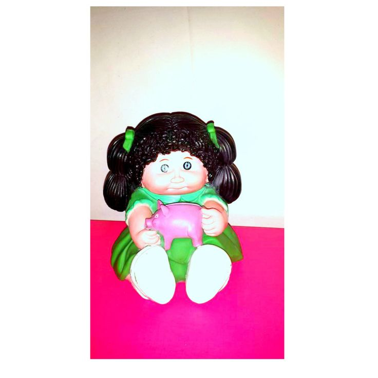 Vintage Cabbage Patch Doll Rubber Bank,Cabbage Patch Doll,Rubber Bank,Vintage Cabbage Patch,Blow Mold,Piggy Bank,1980s by JunkYardBlonde on Etsy #cabbagepatchdoll #cabbagepatchbank #vintagedolls #cabbagepatchdoll  #collectibles #rubberbank #vintagebank #kitsch