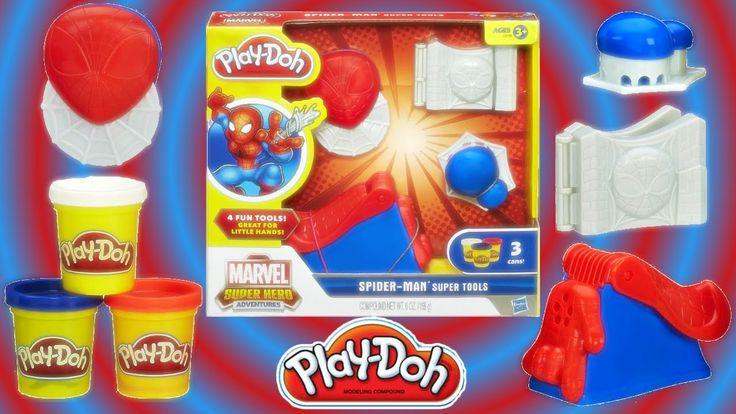 PlayDoh Spider Man  Super Tool Play set Toy for Kids Unboxing play dough Super Hero Peter Parker From Rainbow Toys TV https://youtu.be/egr7XvL-hbE?list=PLDogJfx3GEGLP5wPCY1no87EidOppjZva