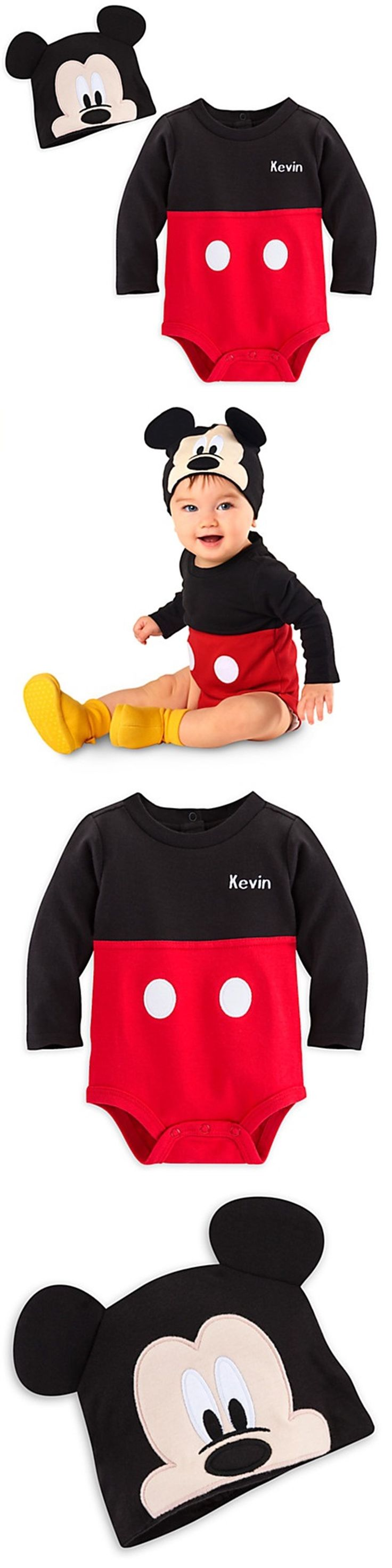 Halloween Costumes Kids: Disney Store Mickey Mouse Dress Up Baby Costume Halloween Ears 9 12 18 24 Mo New -> BUY IT NOW ONLY: $32.95 on eBay!