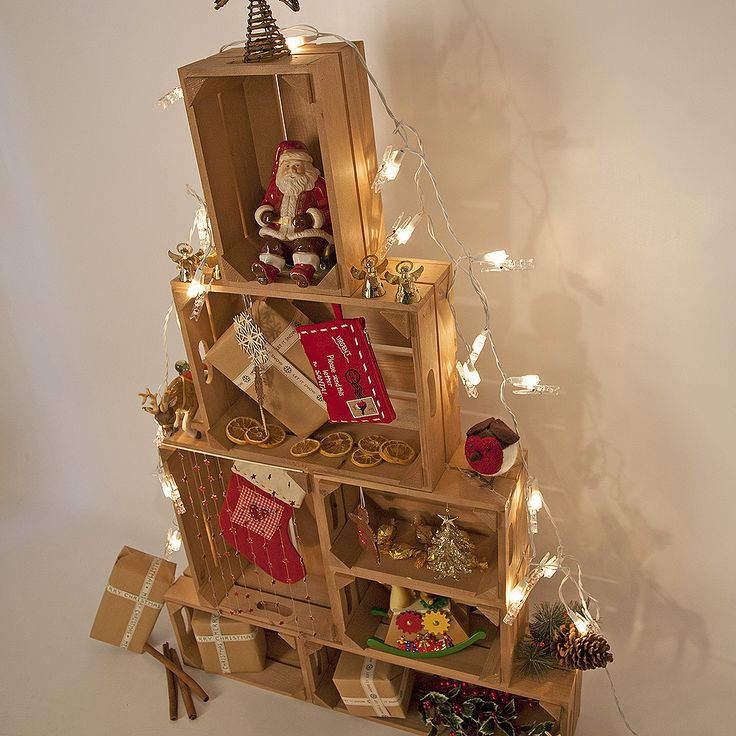 17 Best Images About Christmas Crate Ideas On Pinterest
