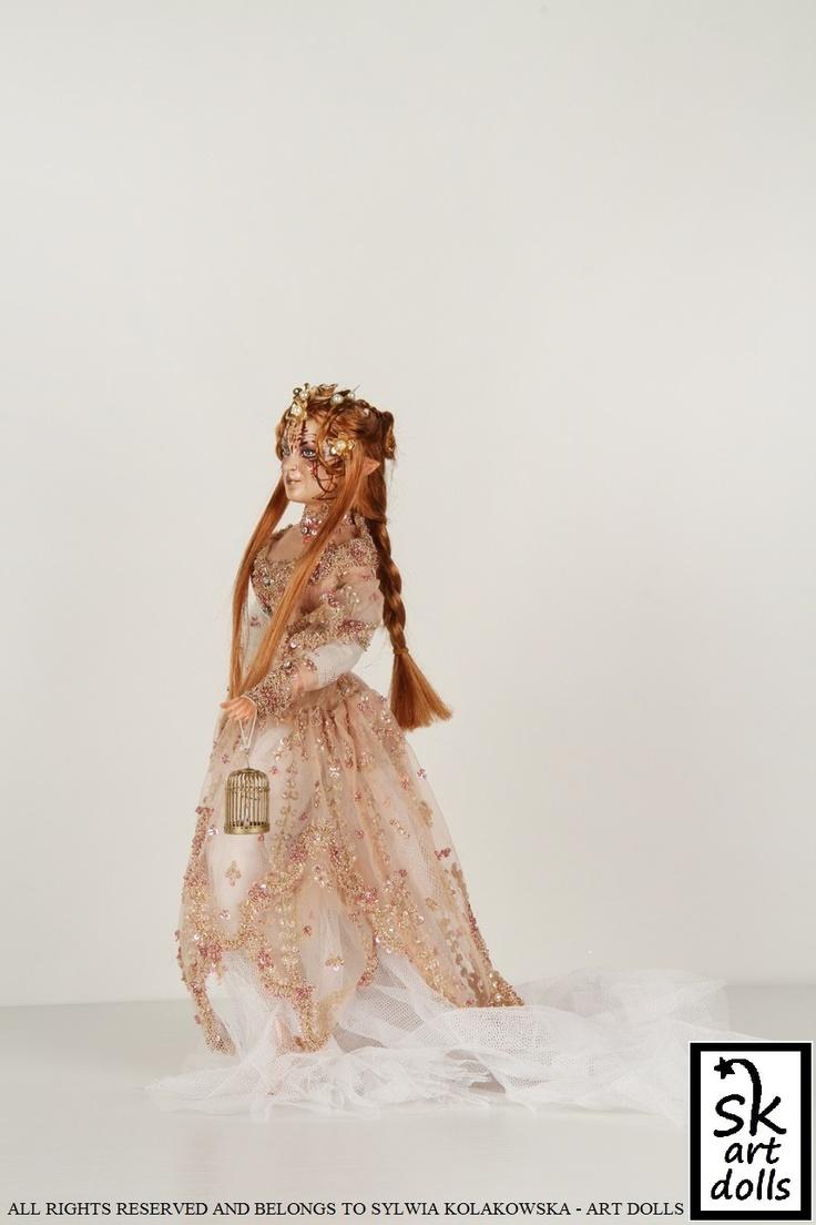 Aurora, an elf - an original art porcelain doll by sinestro (SK ART DOLLS).