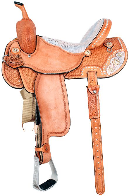 Pozzi Pro Racer-Barrel Saddle $2695.00 so pretty.... I guess I need a horse first though