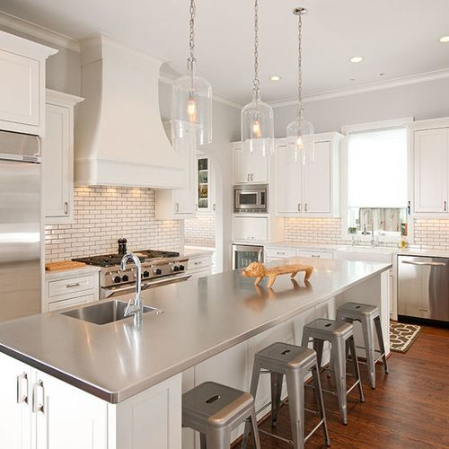 1000 ideas about stainless steel countertops on pinterest - Cocinas de acero inoxidable ...