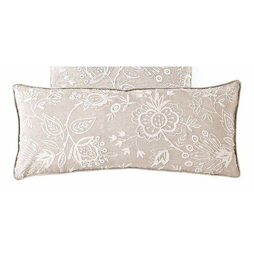 Found it at Wayfair - Manor Double Cotton Boudoir/Breakfast Pillow
