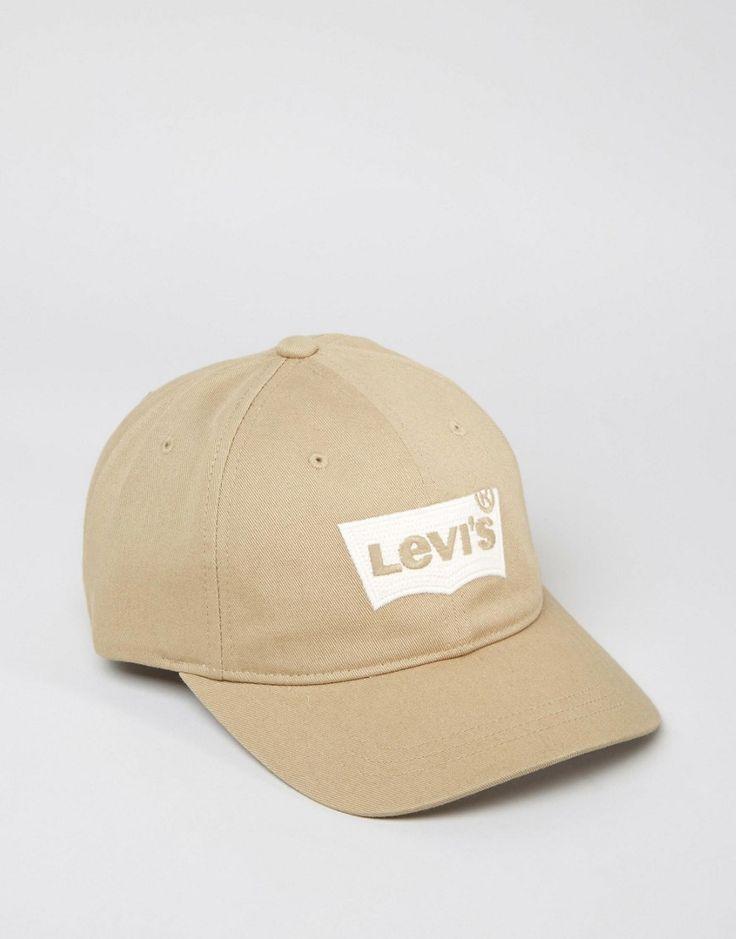 Image 1 - Levi's - Batwing - Casquette de baseball - Taupe