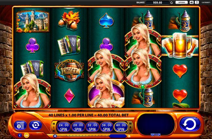 Bier Haus von #WMS – ein interessantes #CasinoSpiel für die Spieler, die Oktoberfest gern haben! Spiel auch du ohne Ende kostenlos!