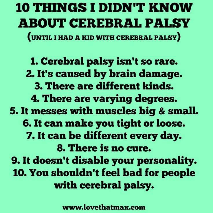 an understanding of cerebral palsy and epilepsy Children with epilepsy who also have an intellectual disability or mental handicap (a term preferred over the older term, mental retardation) or cerebral palsy.