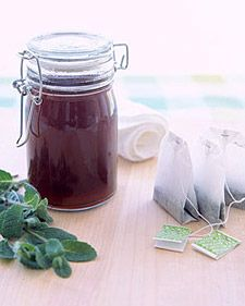 20 DIY Home Remedies You Had No IdeaExisted  These alleged fixes for bodily ailments mostly involve things you already have lying around, or can buy from the drugstore for a few dollars. DISCLAIMER: we have no idea if these actually work or not — this is merely a compilation of things a lot of people on the Internet recommend.: Sunburn Relief, Marthastewart, Black Teas, Martha Stewart, Fresh Mint, Sunburn Soother, Sunburn Solutions, Diy, Sunburn Remedies