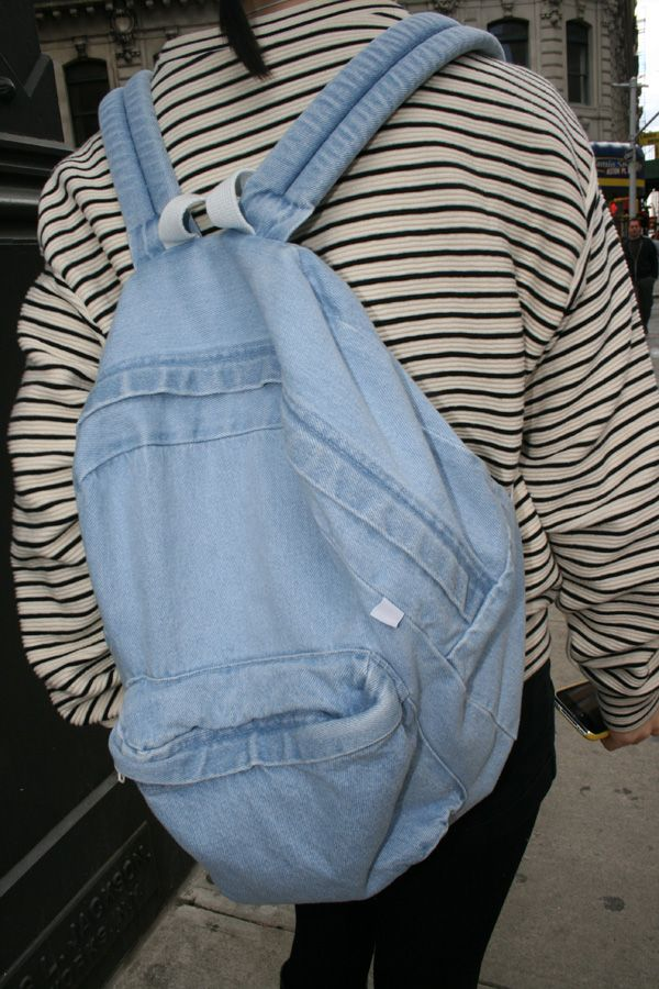 Really like jean backpacks, not sure if they suit me though :/