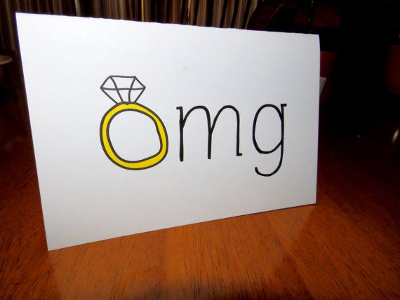 Funny Announcement/Congratulations/Engagement Card,