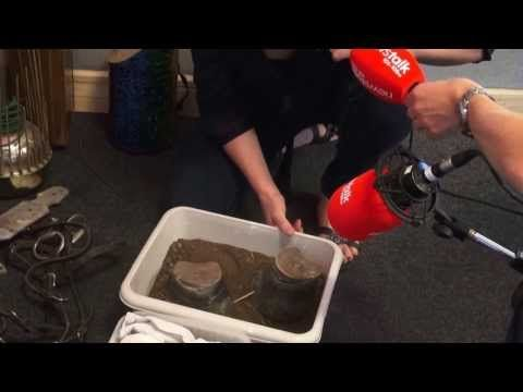 Emmy nominated Foley Artist Caoimhe Doyle demonstrates movie sound effects - YouTube