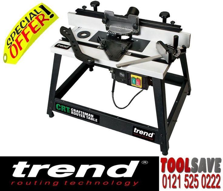 Trend CRT/MK3 Craftsman Router Table MK3 240V