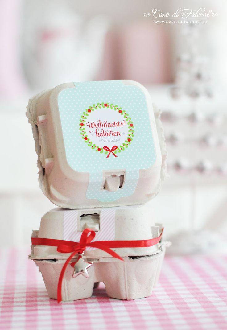 Ausgefallene Konturenaufkleber für unsere Eierboxen - erhältlich bei www.casa-di-falcone.de