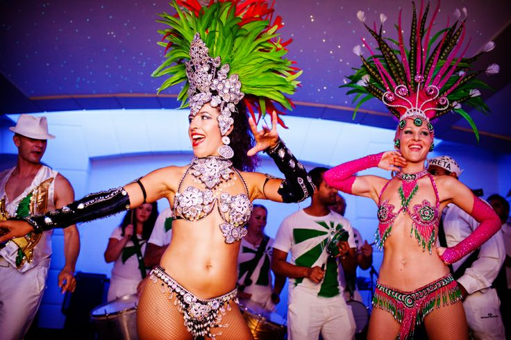 The London School of Samba really got the party started!