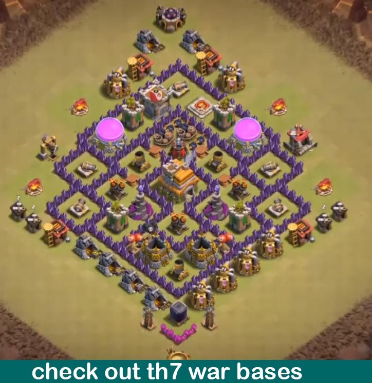 25 Best Th7 War Base Links 2020 New Anti 3 Stars Dragon Clash Of Clans Clash Of Clans Game Clash Of Clans Levels