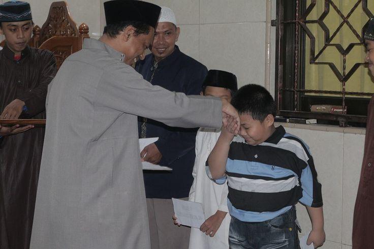 Santi Markaz Imam Malik Juara 3 Lomba Hifzhil Qur'an