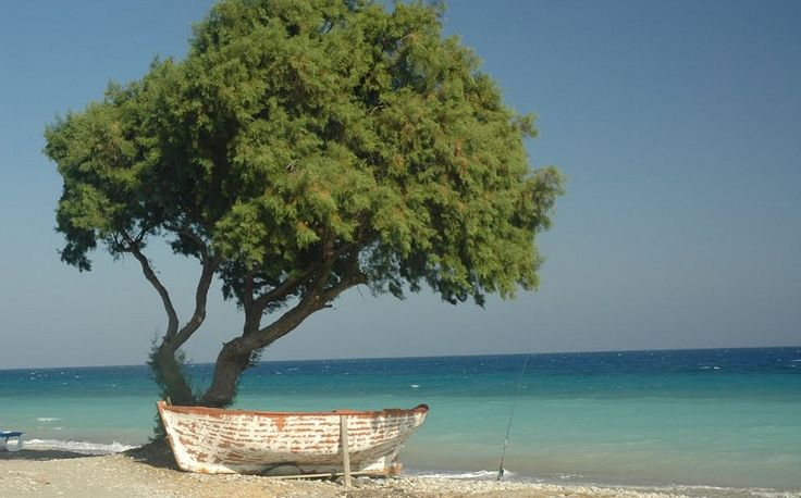 Vakantie Rhodos Trianda Ialyssos - op het strand