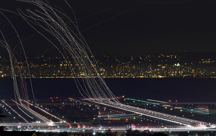 Time Lapse Of An Hour At The Airport