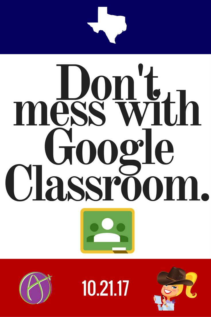 October 21, 2017  Are y'all ready to take your Google Classroom skills to the next level? Come learn from the Ah-mazing Alice Keeler and me at the Don't Mess with Google Classroom Conference on October 21, 2017. Mark your calendars! You do not want to miss this opportunity to learn with Alice Keeler and have some Googley fun in the Lone Star State! You don't mess with the great state of Texas, and you don't mess with our favorite Google tool: Google Classroom! Registration is OPEN, as is our…