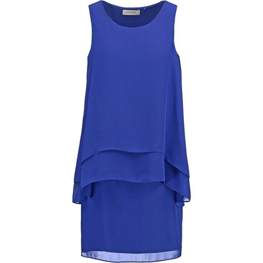 NAF NAF SHANA Sukienka letnia bleu klein zalando fioletowy mini
