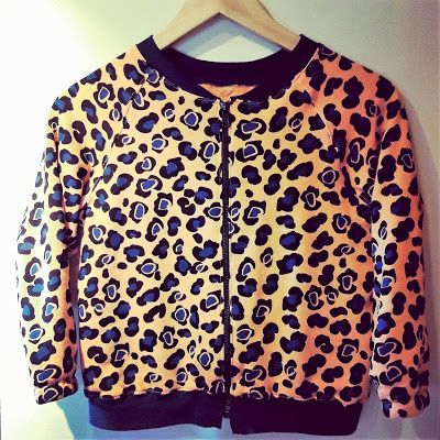 Made by me: Jakke i leopardstoff
