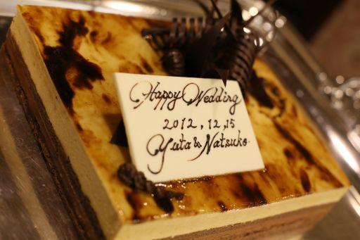 キャラメルムースのウェディングケーキ~広島グランドインテリジェントホテル~ - 広島グランドインテリジェントホテル ウェディングプランナーブログ
