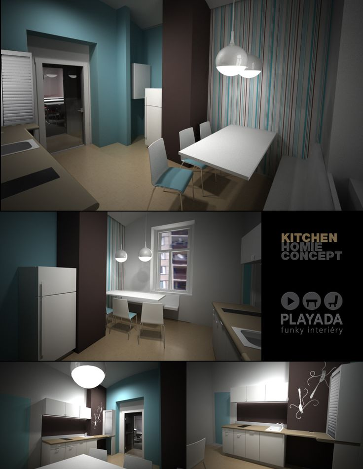 Office house reconstruction / kitchen