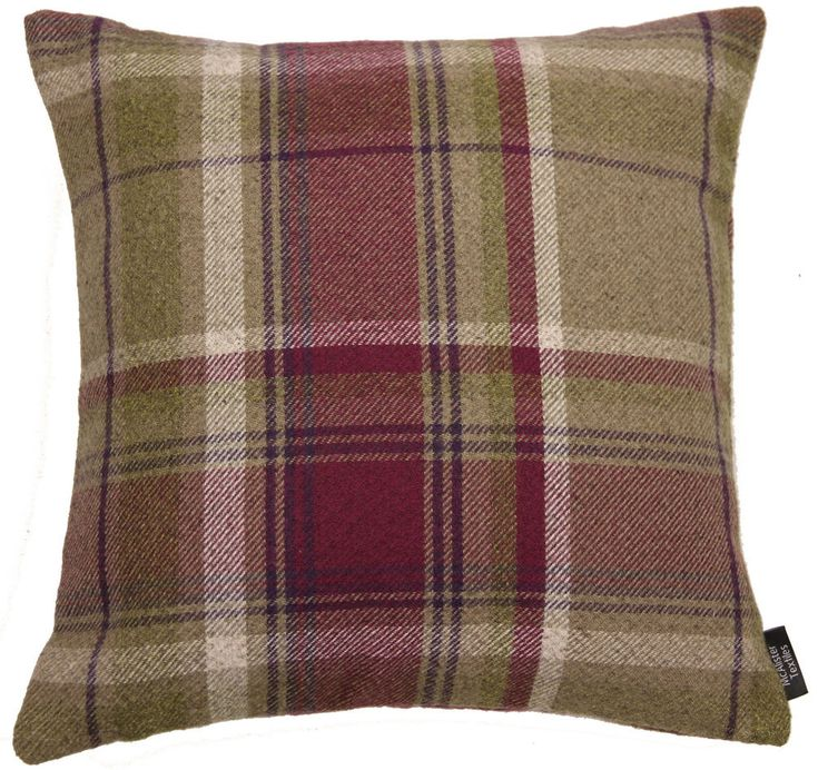 McAlister Textiles Heritage | Woven Mulberry Purple Tartan Check Cushion Cover | Home, Furniture & DIY, Home Decor, Cushions | eBay!