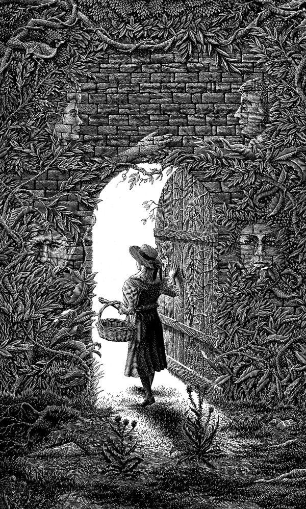 The Secret Garden by Michael Halbert
