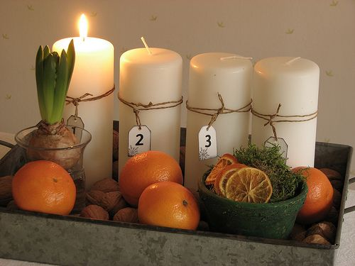 advent kerzen