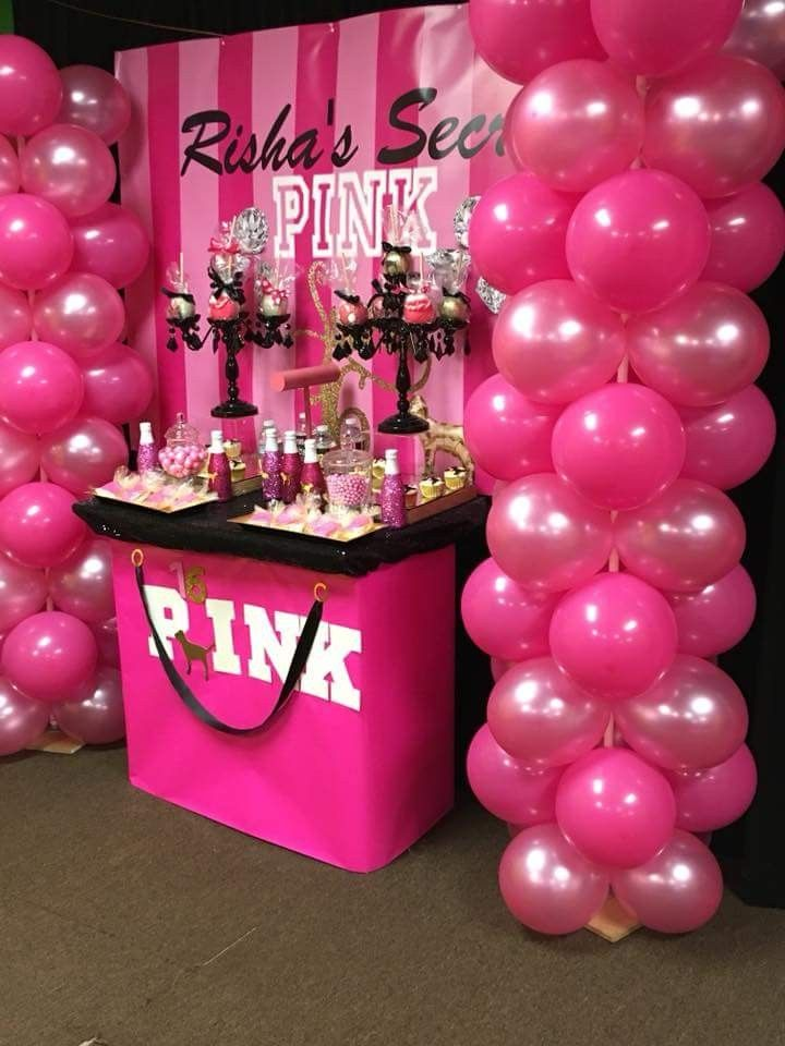 For Stacia Vs Party Birthday Party For Teens Pink Birthday