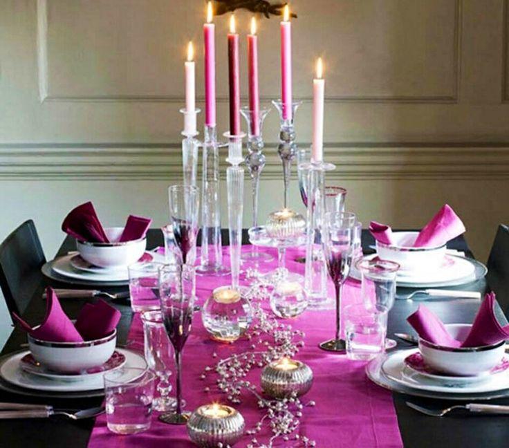 #HLo-Tips: Para esa cena tan especial como es la pedida de mano, un concepto en rosa y gris queda muy bien.