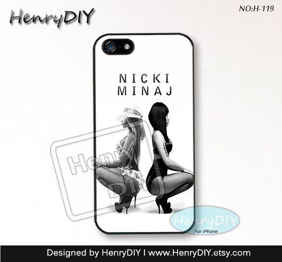 nici minaj Phone Cases, iPhone 5/5S Case, iPhone 5C Case, iPhone 4/4S Case, nici minaj Phone covers, Skins, Case for iPhone~H-119