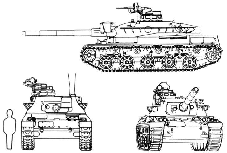 AMX-30 Main Battle Tank (France)