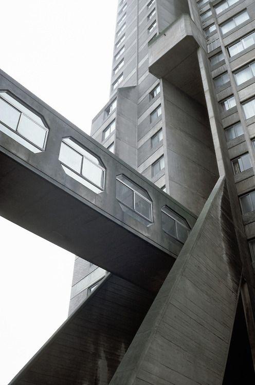 Derwent Tower, Dunston, England, Owen Luder, 1967-72. Demolished in 2012.