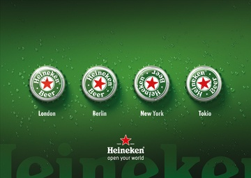 Silver - Best Beer Ad, Open your world, Heineken, Bernstein Werbeagentur