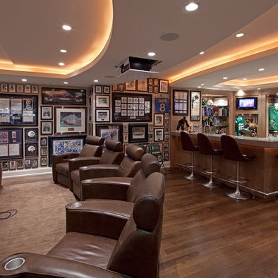 Serious Sports & Entertainment Collector's Home